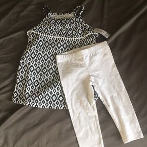 Girls 4T Carters Set NWT